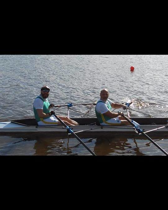 gara Regionale di canottaggio al Lago Patria