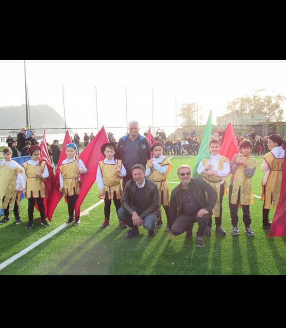 Inaugurato il nuovo campo di calcio