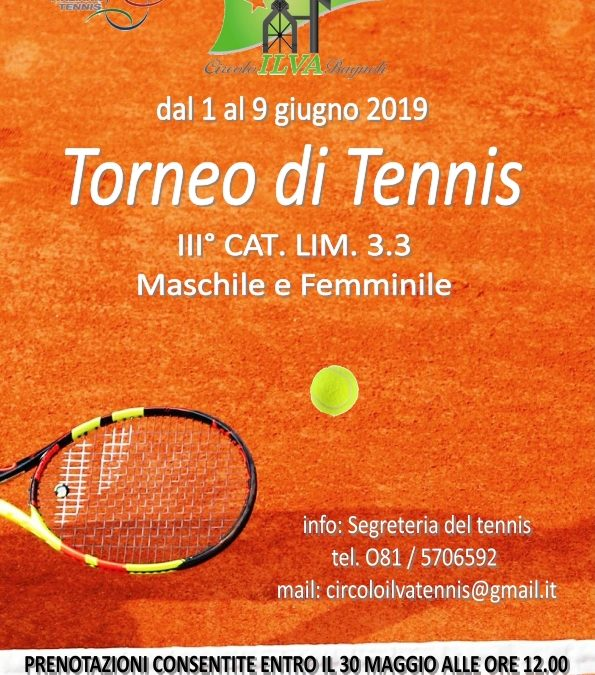 Torneo di Tennis FIT – Orari e Calendario