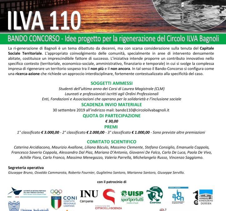 Bando 110 – Progetti per la ri-generazione del Circolo ILVA Bagnoli