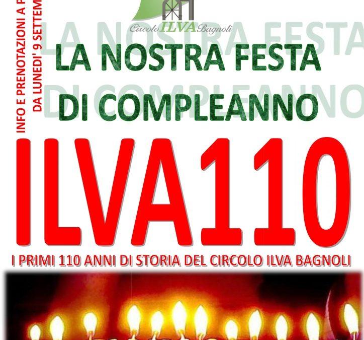 La festa del nostro 110° compleanno