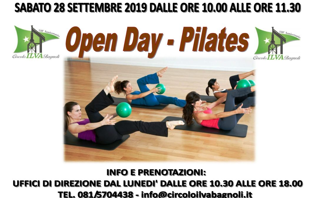 Open Day di Pilates