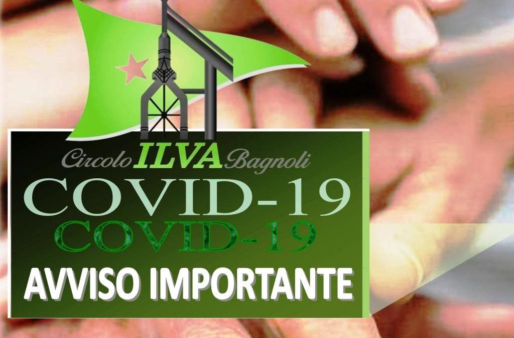 AVVISO IMPORTANTE PER I SOCI